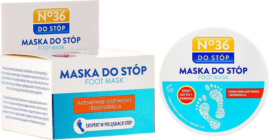 Mascarilla restauradora para pies con extracto de romero y aceite de rosa mosqueta - Pharma CF No.36 Foot Mask