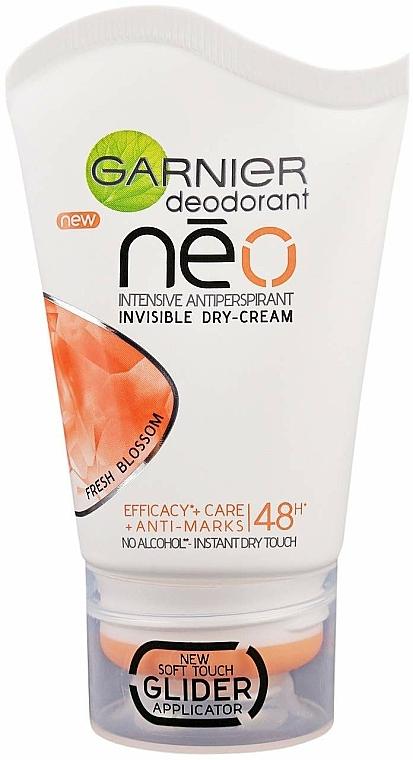 Desodorante en crema antitranspirante - Garnier NEO Fresh Blossom