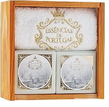 Perfumería y cosmética Set de jabones - Essencias De Portugal Senses Wooden Box (jabón/2x200g + toalla)