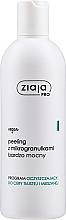 Perfumería y cosmética Exfoliante facial con extracto de tomillo, regaliz y té blanco - Ziaja Pro Very Strong Peeling With Microgranules