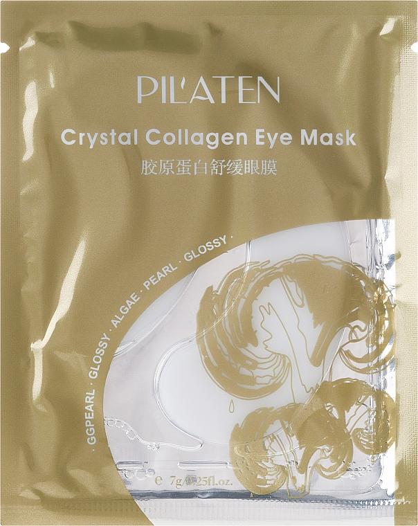 Mascarilla parches para contorno de ojos con colágeno y extracto de algas - Pil'aten Crystal Collagen Eye Mask