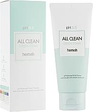 Perfumería y cosmética Espuma limpiadora facial con agua de hamamelis - Heimish All Clean Green Foam pH 5.5