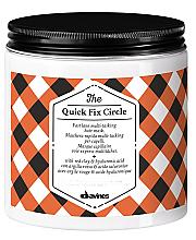 Perfumería y cosmética Mascarilla capilar con arcilla roja - Davines Quick Fix Circle Hair Mask