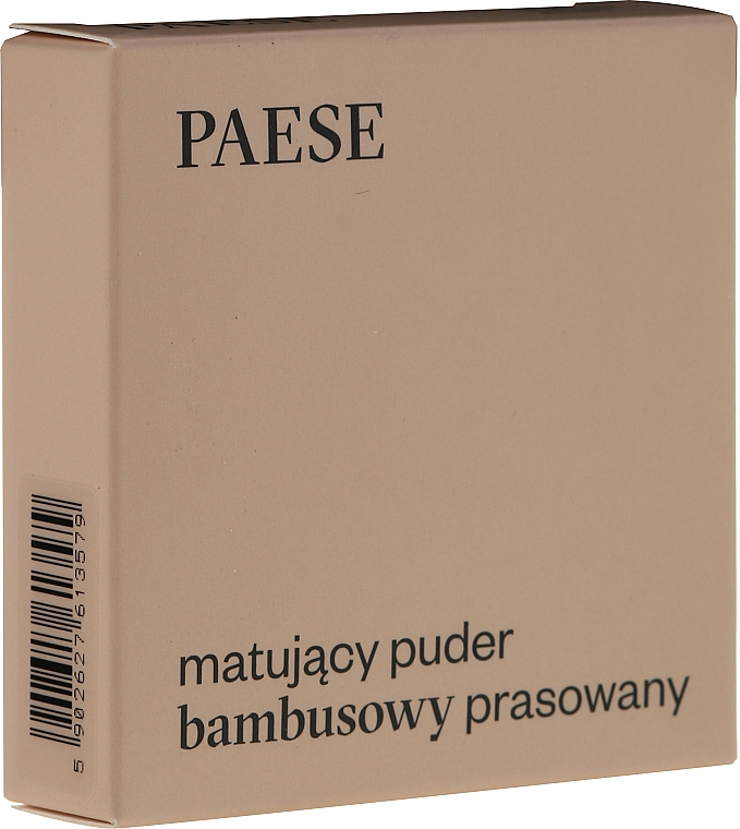 Polvo facial prensado con efecto mate - Paese Powder Mate