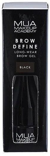 Gel para cejas de larga duración - MUA Brow Define Long-Wear Brow Gel