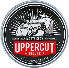 Perfumería y cosmética Arcilla para cabello con aroma a menta refrescante & vainilla - Uppercut Deluxe Matt Clay