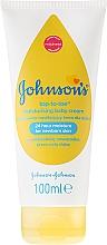 Perfumería y cosmética Crema para rostro y cuerpo bio con extracto de caléndula - Johnson's Baby Top-To-Toe Cream