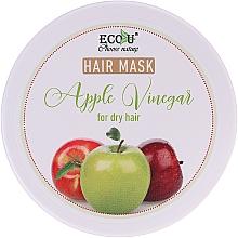 Perfumería y cosmética Mascarilla capilar con vinagre de manzana - ECO U Apple Vinegar Hair Mask For Dry Hair