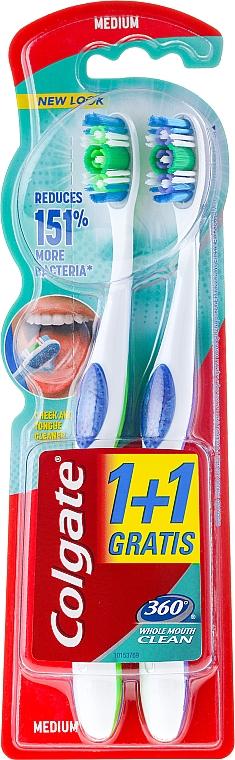 Cepillos dentales - Colgate 360 Whole Mouth Clean Medium — imagen N1
