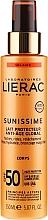 Perfumería y cosmética Leche solar con ácido hialurónico SPF50 - Lierac Sunissime