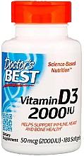 Perfumería y cosmética Complemento alimenticio en cápsulas de vitamina D3, 50 mcg - Doctor's Best