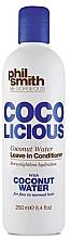 Perfumería y cosmética Acondicionador de cabello vegano con agua de coco - Phil Smith Be Gorgeous Coco Licious Coconut Water Leave in Conditioner