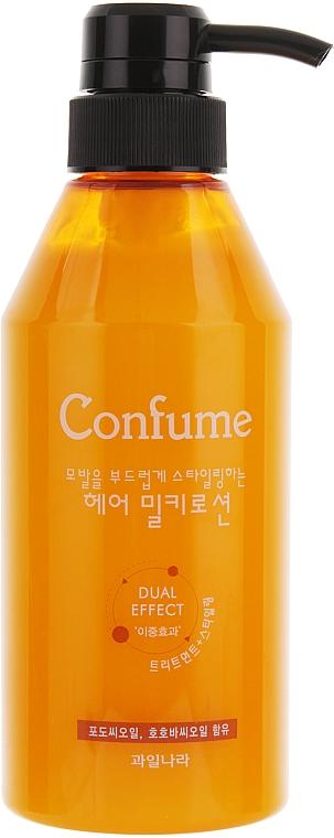 Loción capilar restauradora con proteínas de leche - Welcos Confume Hair Miky Lotion