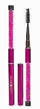 Perfumería y cosmética Cepillo profesional para cejas y pestañas, rosa - Lash Brow Pink