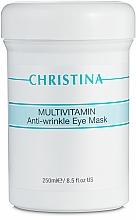 Perfumería y cosmética Mascarilla para contorno de ojos antiedad multivitamínica - Christina Multivitamin Anti-Wrinkle Eye Mask