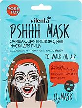 Perfumería y cosmética Mascarilla facial purificante con carbón y complejo de ácidos - Vilenta Pshhh Mask