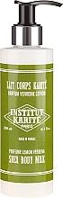 Perfumería y cosmética Leche corporal con karité, aroma a verbena - Institut Karite Lemon Verbena Shea Body Milk