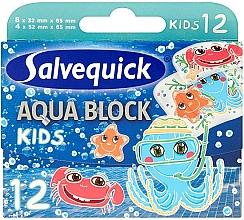 Perfumería y cosmética Escayola impermeable que acelera la cicatrización - Salvequick Aqua Block Kids Slices