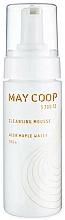 Perfumería y cosmética Espuma natural de limpieza facial con extracto de oliva - May Coop Cleansing Mousse Acer Maple Water 100%