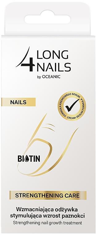 Sérum de uñas intensivo fortificante con aceite de almendras dulces - Long4Lashes Intensive Strenghtening Nail Serum — imagen N3