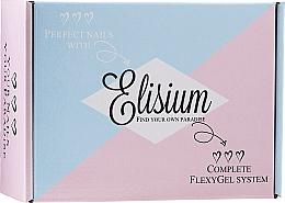 Perfumería y cosmética Elisium Diamond Maxi - Set de manicura (líquido/5x15ml + polvo/3x23g)