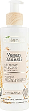 Perfumería y cosmética Leche limpiadora facial de avena trigo y leche de arroz - Bielenda Vegan Muesli Moisturizing Face Cleaning Milk