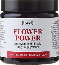 Perfumería y cosmética Manteca corporal aromática con ylang-ylang & geranio - Iossi Regenerating Body Butter