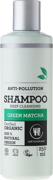 Champú con extracto de Matcha verde orgánico y 100% natural - Urtekram Green Matcha Shampoo