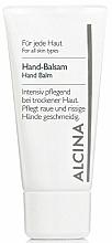 Perfumería y cosmética Bálsamo para manos con pantenol y alantoína - Alcina B Hand Balm