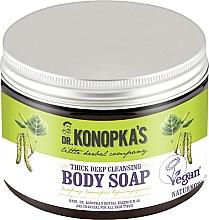 Perfumería y cosmética Jabón corporal con carbón para todo tipo de piel - Dr. Konopka's Deep Cleansing Thick Body Soap