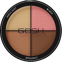 Perfumería y cosmética Paleta de contorno - Gosh Contour Strobe Kit