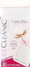 Perfumería y cosmética Discos de algodón desmaquillantes 50 uds. - Cleanic Face Care Cotton Pads