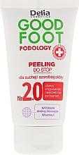 Perfumería y cosmética Exfoliante para pies con manteca de karité & vitamina E - Delia Cosmetics Good Foot Podology Nr 2.0