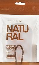 Perfumería y cosmética Esponja de baño de masaje, vegetal - Suavipiel Natural Vegetal Massage Sponge