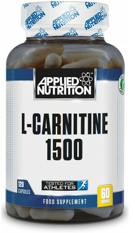 Complemento alimenticio de L-carnitina, en cápsulas 1500mg - Applied Nutrition L-Carnitine