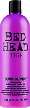 Perfumería y cosmética Acondicionador reconstructor para cabello tratado químicamente con queratina y aminoácidos - Tigi Bed Head Dumb Blonde Conditioner