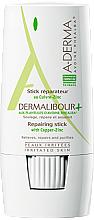 Perfumería y cosmética Stick corporal reparador con cobre y zinc - A-Derma Dermalibour+ Repairing Stick