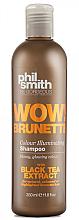 Perfumería y cosmética Champú iluminador con extracto de té negro - Phil Smith Be Gorgeous Wow Brunette Colour Illuminating Shampoo