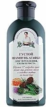 Perfumería y cosmética Champú estimulador del crecimiento del cabello con hierbas siberianas - Las recetas de la abuela Agafia