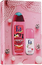 Perfumería y cosmética Set - Fa Polinesia Secrets (gel de ducha/250ml + deo/50ml)