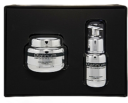 Perfumería y cosmética Fontana Contarini Platinum Gift Set - Set facial antienvejecimiento (sérum contorno de ojos/30ml + crema facial/50ml)