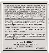 Crema de noche con colágeno - Sisley Creme Collagene Et Mauve Botanical Night Cream — imagen N4