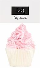 Perfumería y cosmética Jabón artesanal con karité, aroma a cerreza, magdalena - LaQ Happy Soaps Natural Soap