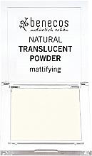 Perfumería y cosmética Polvo facial compacto translúcido con efecto mate - Benecos Natural Translucent Powder Mission Invisible