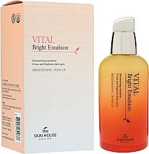 Perfumería y cosmética Emulsión facial iluminadora con agua de limón, extracto de arándano y mora - The Skin House Vital Bright Emulsion