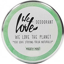 Perfumería y cosmética Desodorante natural en crema de aceite menta y romero - We Love The Planet Mighty Mint Cream Deodorant