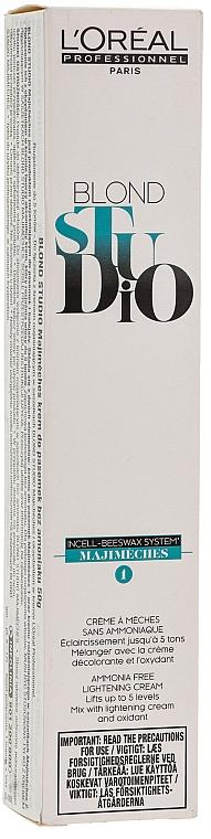 Crema decolorante sin amoníaco, tuba - L'Oreal Professionnel Majimeches — imagen N1