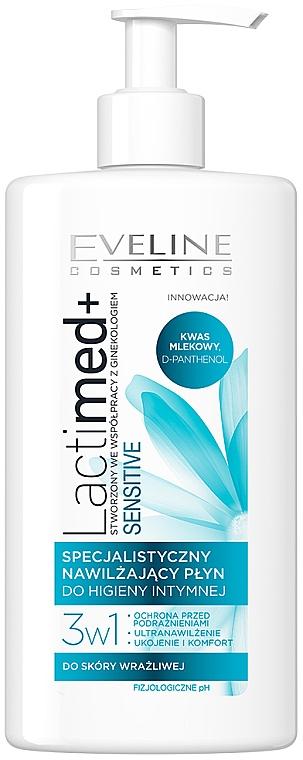 Gel de higiene íntima con extracto de jazmín para piel sensible - Eveline Cosmetics Lactimed+ Sensitive