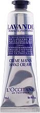 Perfumería y cosmética Crema de manos con lavanda - L'Occitane Lavande crema de manos