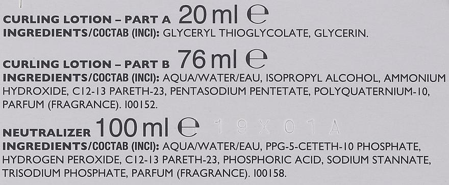 Tratamiento rizada permanente con proteínas de uso profesional - Revlon Professional Sensor Perm-Supreme — imagen N3